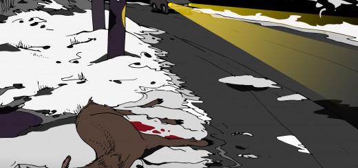 Nářek mrtvé laně - ilustrace