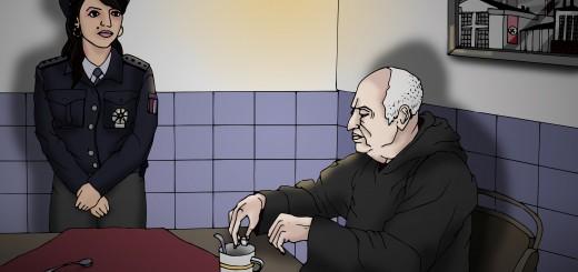 Návštěva - ilustrace